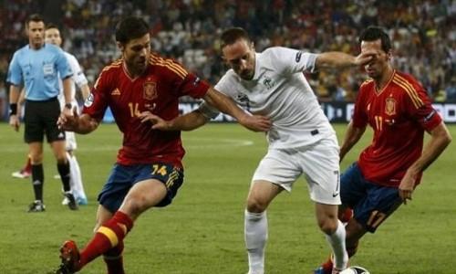 Eliminatorias Brasil 2014: alineaciones probables de Francia y España