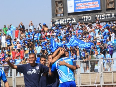 ¿El Club San Marcos de Arica iba a jugar con  Colo Colo en el estadio Jorge Basadre de Tacna?