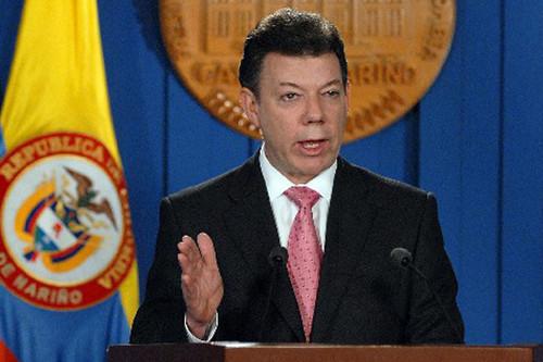 Juan Manuel Santos cuestiona a las FARC por supuestamente seguir ligados al narcotráfico