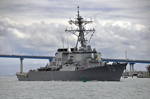 EE.UU envía a un tercer destructor hacia la península coreana