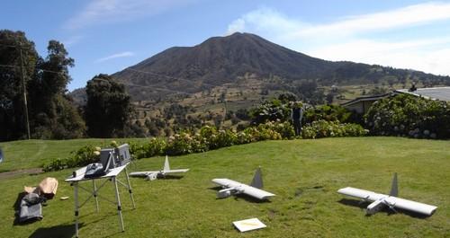 NASA envía Drones a un volcán en Costa Rica para realizar estudios científicos