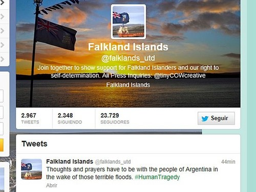 Autoridades de Falkland Islands se solidarizaron con los afectados por lluvias en Argentina