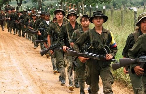 Colombia: decomisan pistola de las Fuerzas Armadas de Venezuela a guerrilleros de las FARC