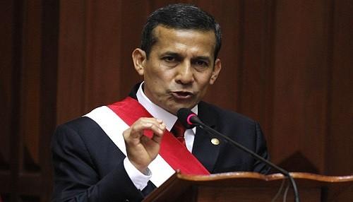 Ollanta Humala: Perú es una plataforma competitiva en Latinoamérica
