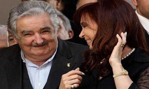 La vieja y el tuerto [Cristina Fernández y Néstor Kirchner]