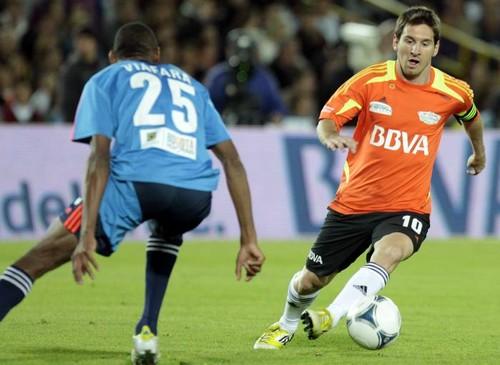 Messi y sus amigos jugarán contra equipo de Guerrero en Lima