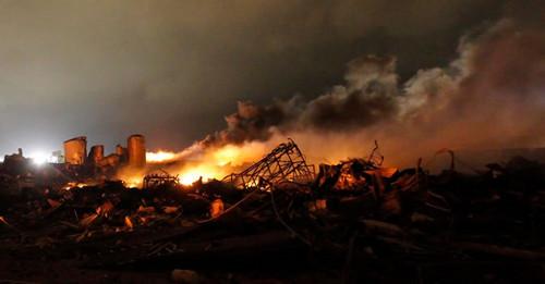 Estados Unidos: Mueren 14 personas por explosión en Texas