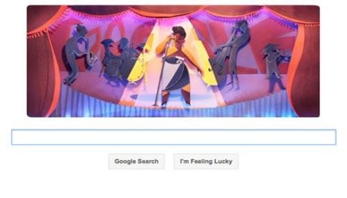 Google conmemora el aniversario de Ella Fitzgerald con un doodle