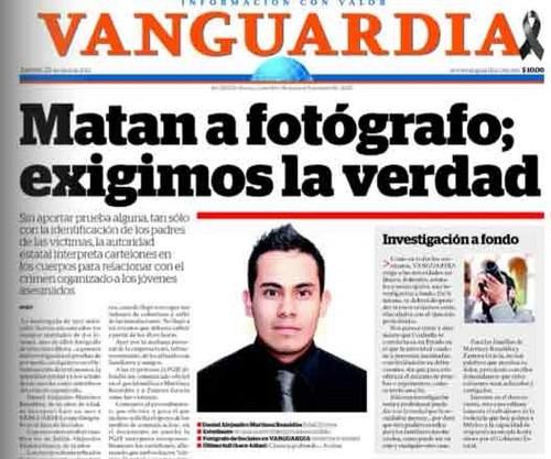 M xico reportero gr fico del diario vanguardia es for Noticias del espectaculo mexicano del dia de hoy