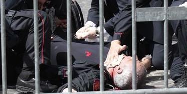[Italia] Dos policias son heridos en tiroteo mientras el nuevo gobierno prestaba juramento