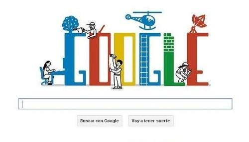 Google celebra el Día del Trabajo con un nuevo doodle