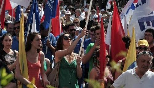 Grecia: Gran marcha contra la austeridad en el Día del Trabajo