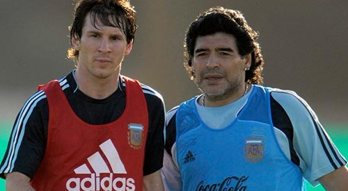Linonel Messi igualó cifra de goles anotados por Maradona en toda su carrera