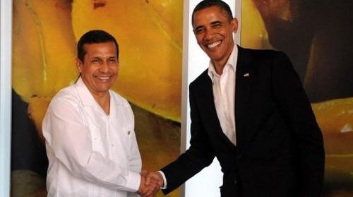Ollanta Humala viajará entre el 10 y 12 de junio a los EEUU para sostener un encuentro con Barack Obama