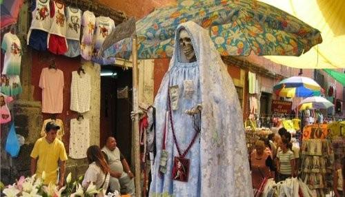 Vaticano declara que la Santa Muerte en México es un símbolo de blasfemia