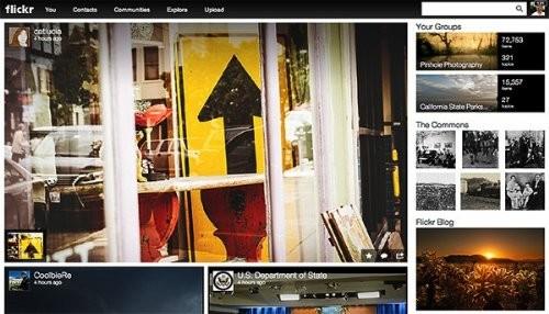Yahoo renueva flickr su sitio para compartir fotos