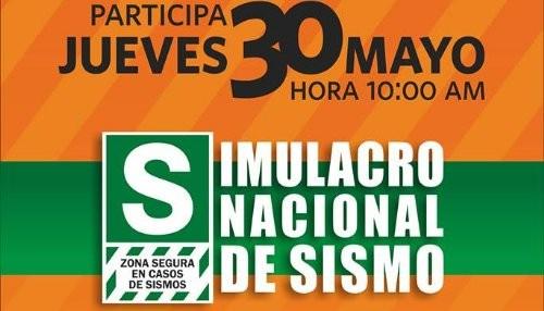 Jefes de Defensa Civil de Lima y Callao coordinan para el simulacro nacional de sismo