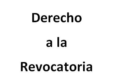 [Colombia] El poder de las revocatorias