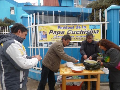 Papa la 'Cuchisina' fue degustada en Cerro de Pasco en el marco del Día Nacional de la Papa