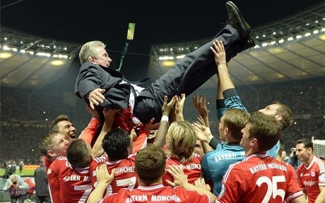 Para el Bayern de Múnich el cielo es el límite: Ha ganado también la Copa de Alemania al vencer al Stuggart por 3-2
