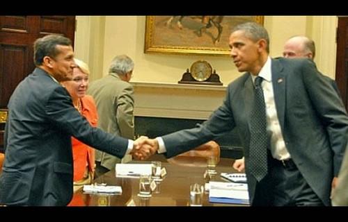 Barack Obama reafirmó el compromiso de Estados Unidos para asociarse con Perú en el combate a la producción y el tráfico de narcóticos ilícito
