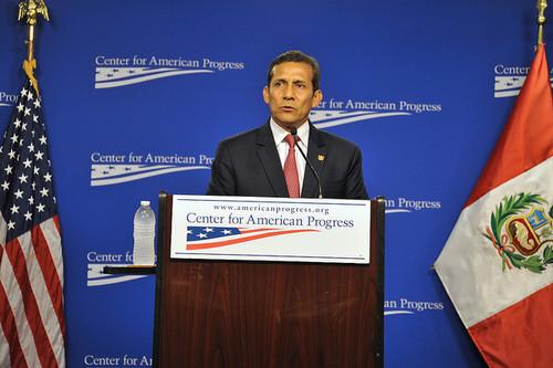 Ollanta Humala: Políticas supranacionales y corresponsabilidad con los países que generan demanda mundial para resolver el problema del narcotráfico