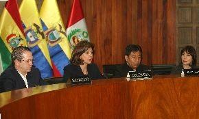 Cancilleres y ministros de Comercio Exterior de la Comunidad Andina se reúnen hoy en Lima