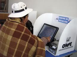 Voto electrónico a la vista en los próximos procesos electorales a llevarse a cabo en el Perú