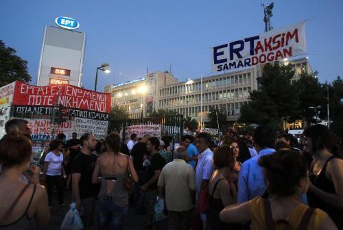 El Consejo de Estado griego ordena reabrir la radio televisión pública ERT al gobierno de Andoni Samarás