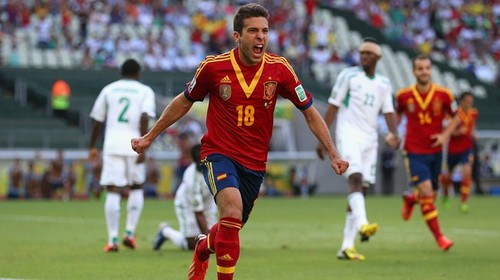 España derrota a Nigeria por 3-0 y se medirá con Italia en las semifinales de la Copa Confederaciones