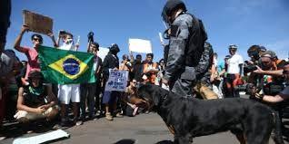 El 75 por ciento de brasileños apoya las protestas