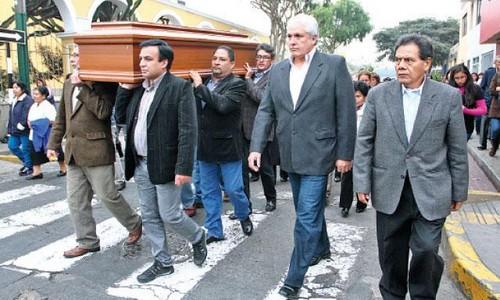 Hasta siempre, amigo Percy Ruiz