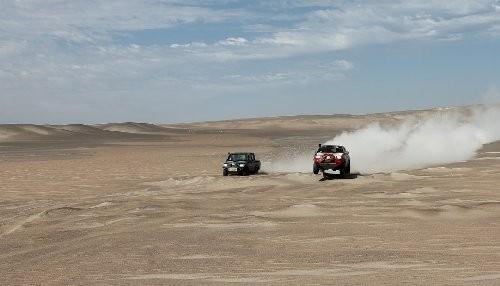 SERNANP constata buen estado de conservación de ruta del Rally Dakar 2013 en Ica