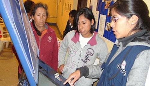 ONPE educa sobre la seguridad y rapidez del Sistema de Voto Electrónico Presencial