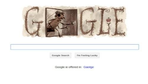 Google rinde homenaje a Franz Kafka con un nuevo doodle
