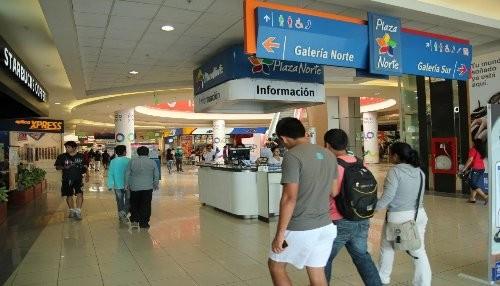 Plaza Norte supera ventas en primer semestre del año