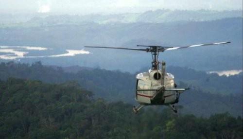 Rescatan cuerpos de los policías fallecidos en caída de helicóptero