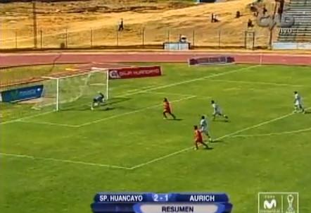 Juan Aurich jugando de visita cayó por 2-1 ante el Sport Huancayo