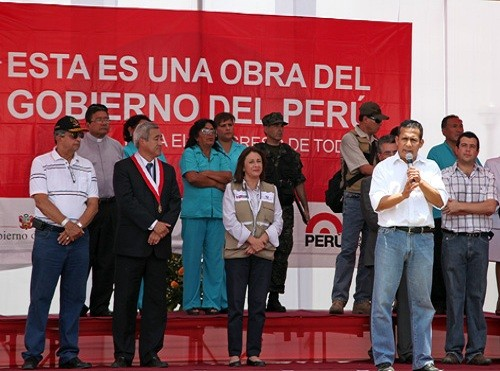Presidente Humala insta a personal médico a que regrese a trabajar