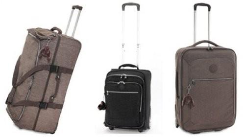 Maletas Kipling para viajar con estilo