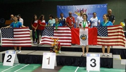 Selección peruana de Bádminton logró 5 medallas en Panamericano de México