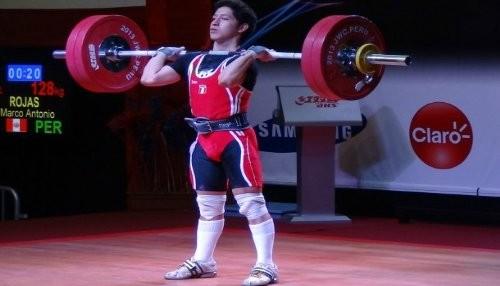 Marcos Rojas consiguió 6 medallas en Panamericano y Sudamericano de Levantamiento de Pesas