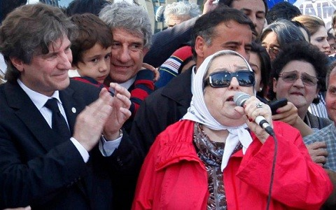 Hebe de Bonafini: 'Cristina Fernández todavía enfrenta mucha corrupción'