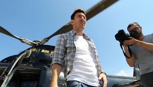 Sandro Rosell y Leo Messi ya están en Mónaco
