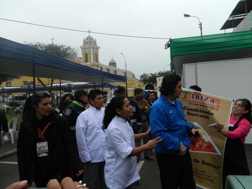 Gastón Acurio visitó Feria Gastronómica 'Con sabor a Surco'