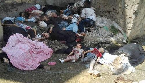 Siria: el gas tóxico de la mentira