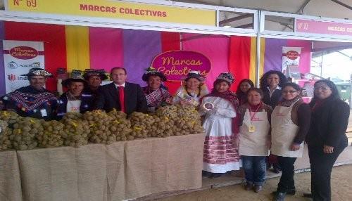 Marcas colectivas de la alianza INDECOPI, AGRORURAL y ONUDI en feria gastronómica Mistura