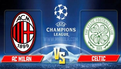 Champions League: Milan vs Celtic [EN VIVO]
