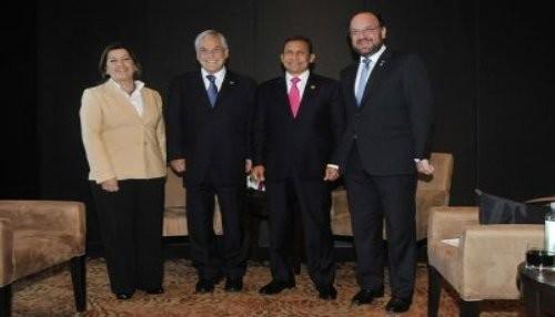 Presidentes Ollanta Humala y Sebastián Piñera ofrecieron declaración conjunta