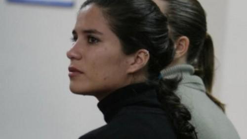 Eva Bracamonte abandonó esta mañana el Penal de Mujeres en Chorillos